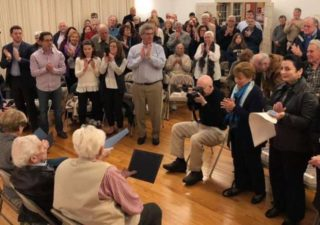 Local Holocaust survivor David Marks honored at JCC